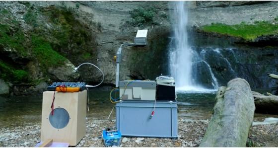 waterfall performance in romainmotier